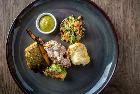 Hawkyns by Atul Kochhar - 2 AA Rosette celeb chef lunch and bubbly for Two - Save 0%