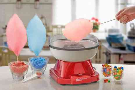 CJ Offers - Cooks Professional retro candy floss machine - Save 48%