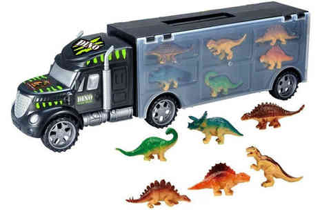 Who Got The Plan - Dinosaur truck carry case - Save 73%