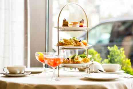 The Hilton Northampton Hotel - Seasonal Afternoon Tea with Glass of Prosecco and Spa Access for Up to Four - Save 0%