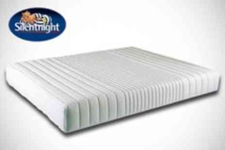 Bed Town - Double or king size Silentnight memory foam mattress - Save 67%
