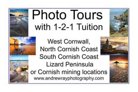 Andrew Ray Cornwall Photography Tours - 3 To 4 hour Cornwall photography tour with one to one tuition - Save 0%