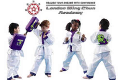 The London Wing Chun Academy - Kids Martial Arts Courses - Save 50%