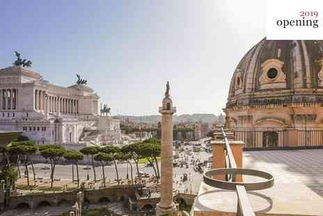 NH Collection Roma Fori Imperiali - Five Star Stunning City Centre Hotel Overlooking Archeaological Site for two - Save 64%