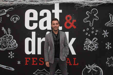 Media 10 - Two tickets to the Eat and Drink Festival Christmas  - Save 53%