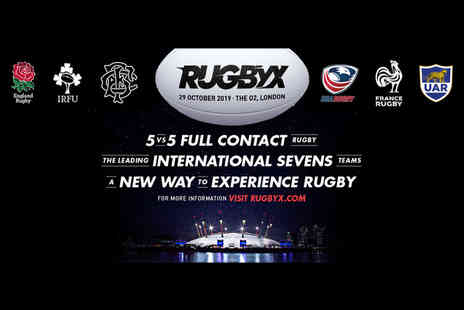RugbyX - Child afternoon ticket to England Sevens RugbyX on Tuesday 29th Oct 2019 - Save 40%