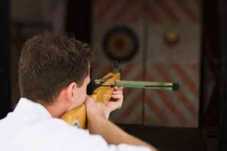 Joes Bows - 150 Minute Archery, Crossbow and Axe Throwing Experience for Up to Four - Save 49%