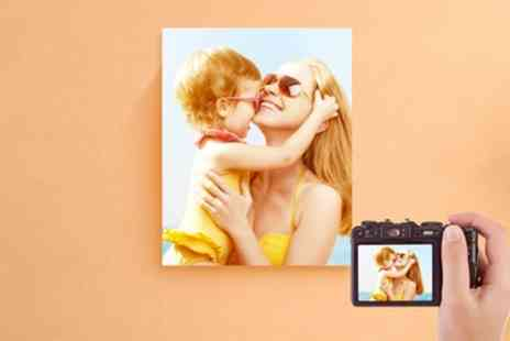 Printerpix - Personalised Photo Canvas in Choice of Sizes - Save 67%