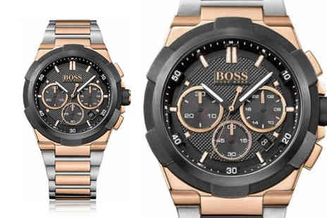 Best Watch Company - Hugo Boss mens Supernova two tone stainless steel watch - Save 72%