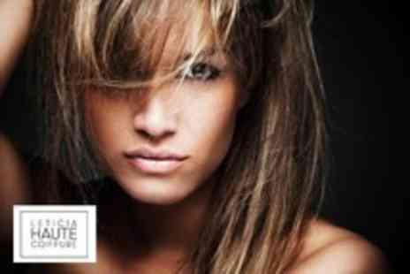 Leticia Haute Coiffure - Cut, conditioning & blow dry w/ senior stylist or £49 inc half head highlights  - Save 55%