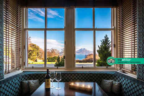Duisdale House Hotel - Four Star Isle of Skye stay for two people with glass of Prosecco, unlimited hot tub access breakfast and canapes- Save 38%