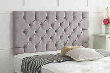 Serenity Designs - Chesterfield chenille headboard - Save 66%