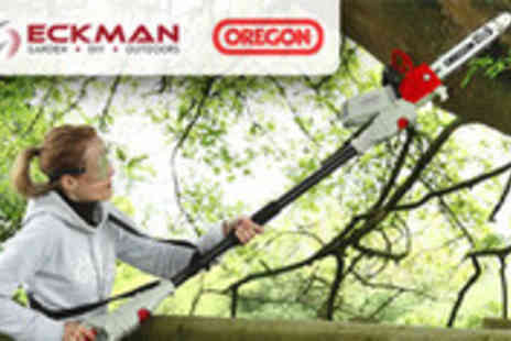 MySmartBuy.com - Eckman 900W 2 in 1 Angle Adjustable Chainsaw with FREE - Save 50%