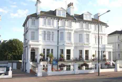 The Devonshire Park Hotel - One Night in Standard or Superior Double Room or Suite for Two with Breakfast - Save 0%