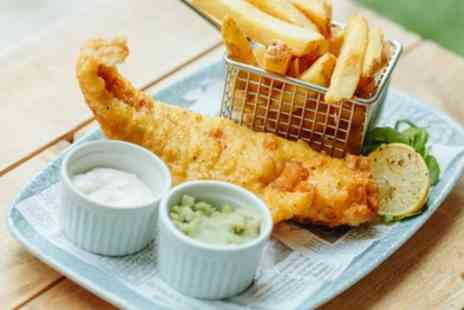 Hilton York - Fish and Chips Meal with Prosecco for One, Two or Four - Save 56%