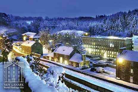 New Lanark World Heritage Site Visitor Centre - Entry to the New Lanark Christmas Experience including festive colouring in, sleigh selfies, a letter to Santa writing session and more - Save 35%