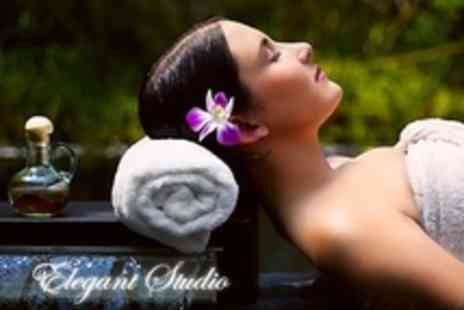 Elegant Studio - One Hour Massage from Tui Na, Shiatsu or Thai Massage - Save 66%